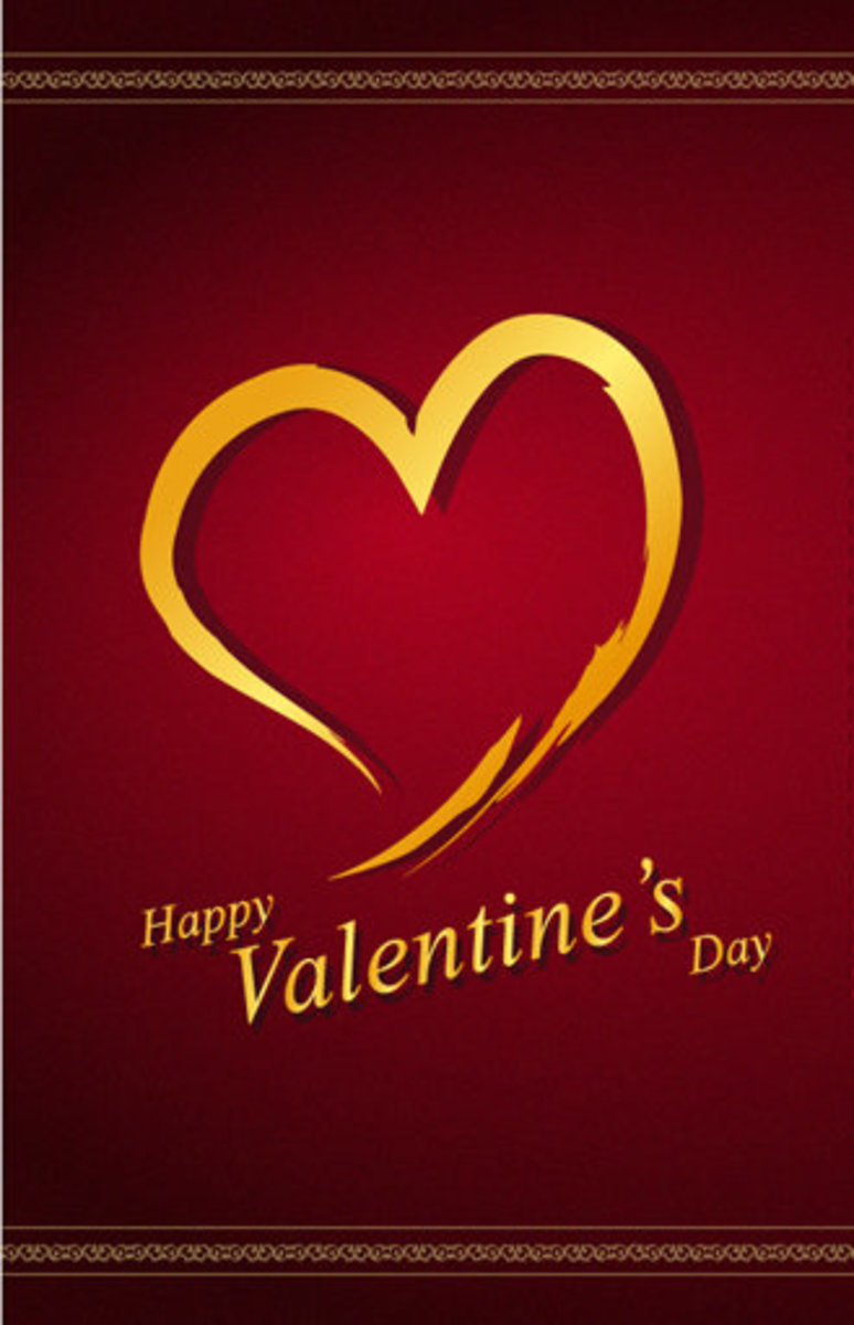 Classic Gentleman's Happy Valentine's Day