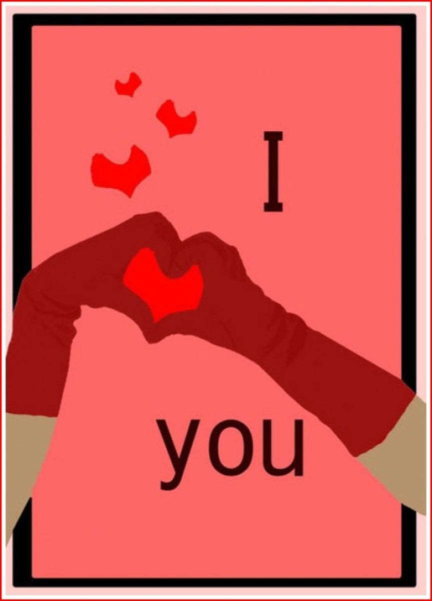 I ♥ You Valentine's Day Card
