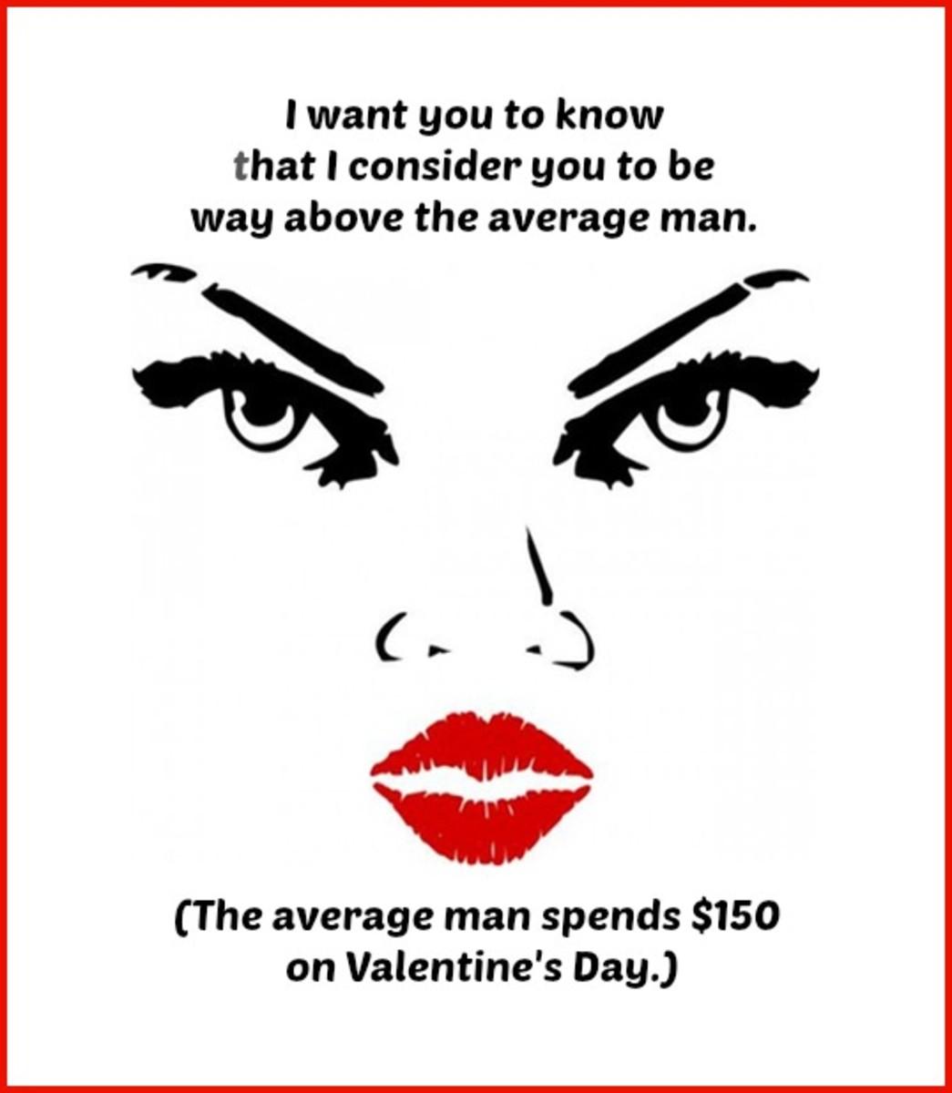 Intimidating Valentine's Day Card