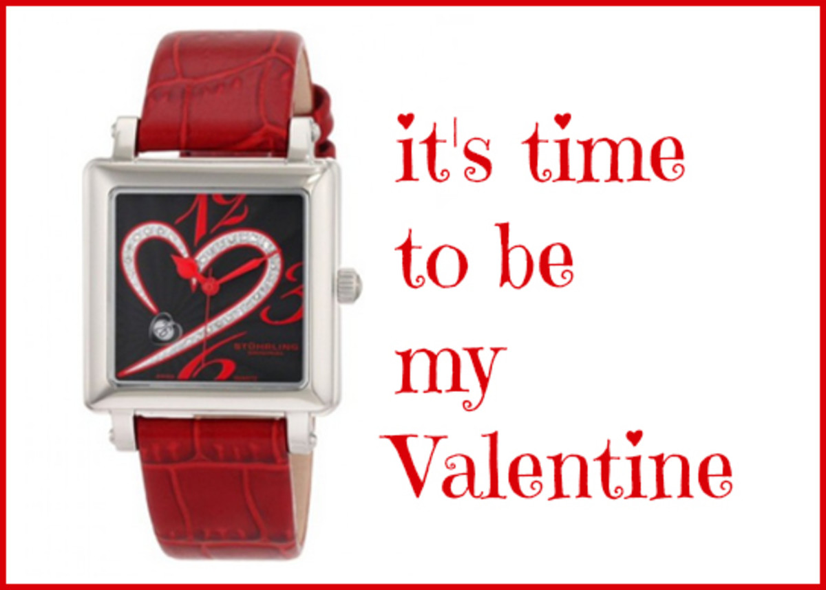 It's Time to Be My Valentine