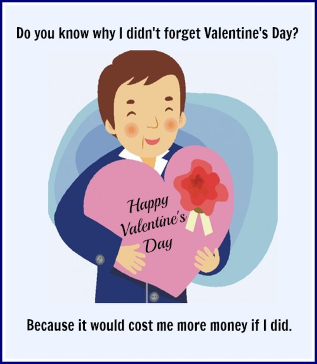 Funny Valentine's Day Card for Men to Give