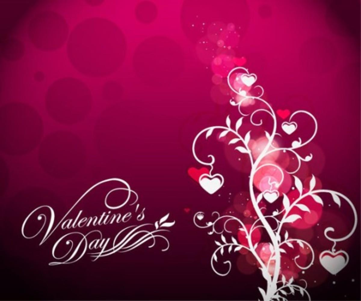 Hot Pink Valentine Tree