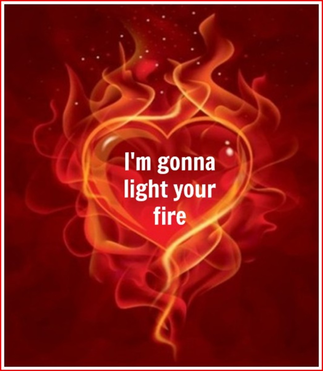 Light Your Fire Valentine's Day Card