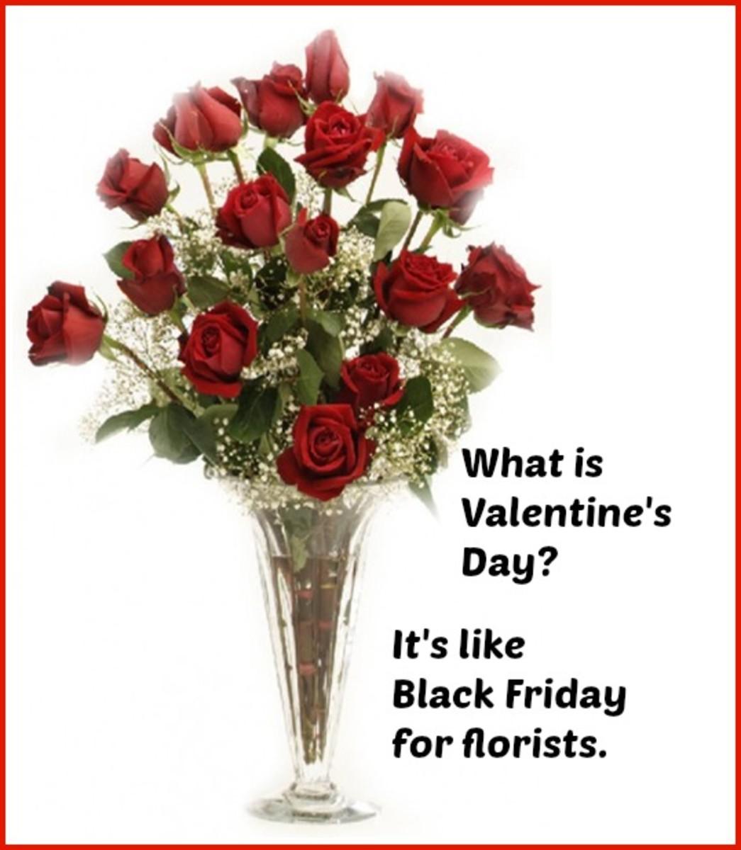 Roses Valentine Card