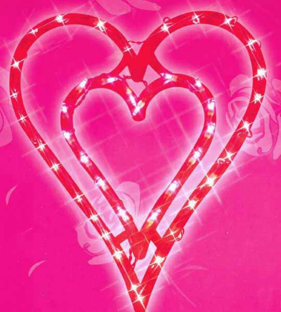 Double Heart Valentines