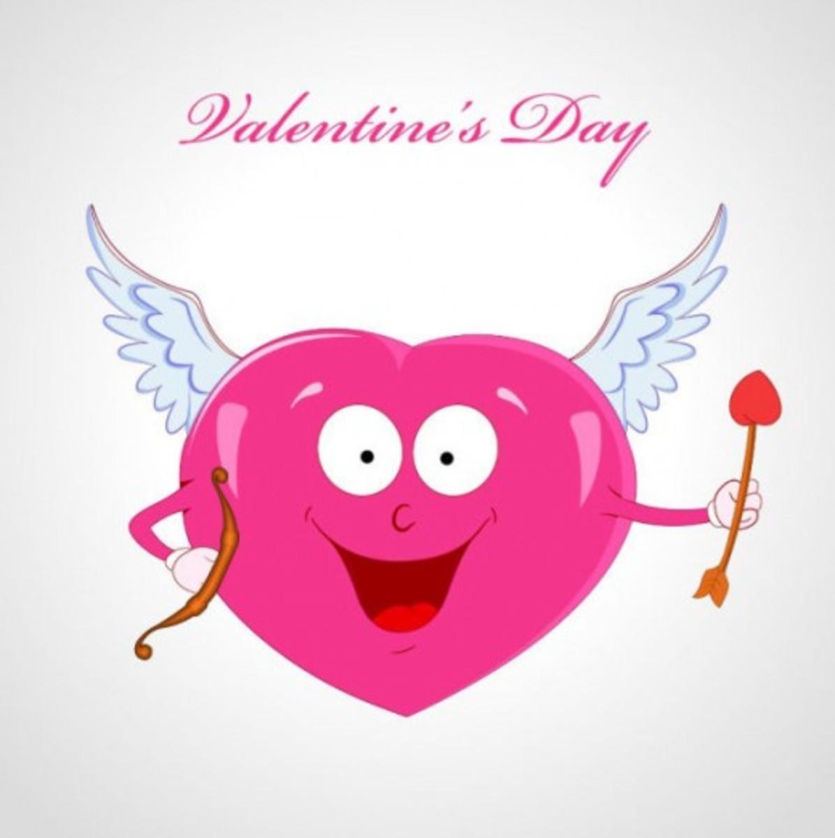 Valentine Heart Cupid
