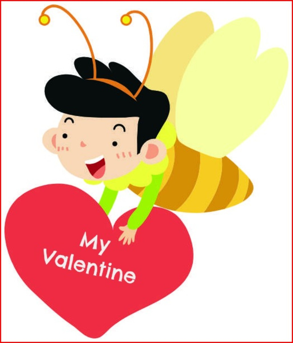 Bee (Be) My Valentine