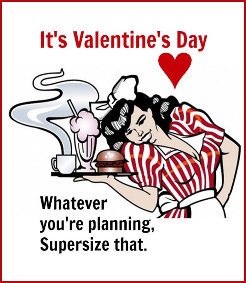 Supersize Valentine's Day Card