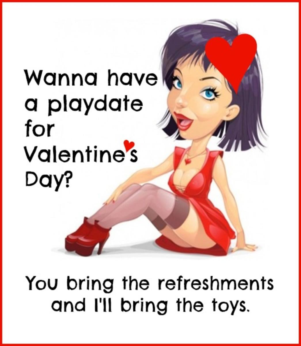 Sexy Valentine's Day Card