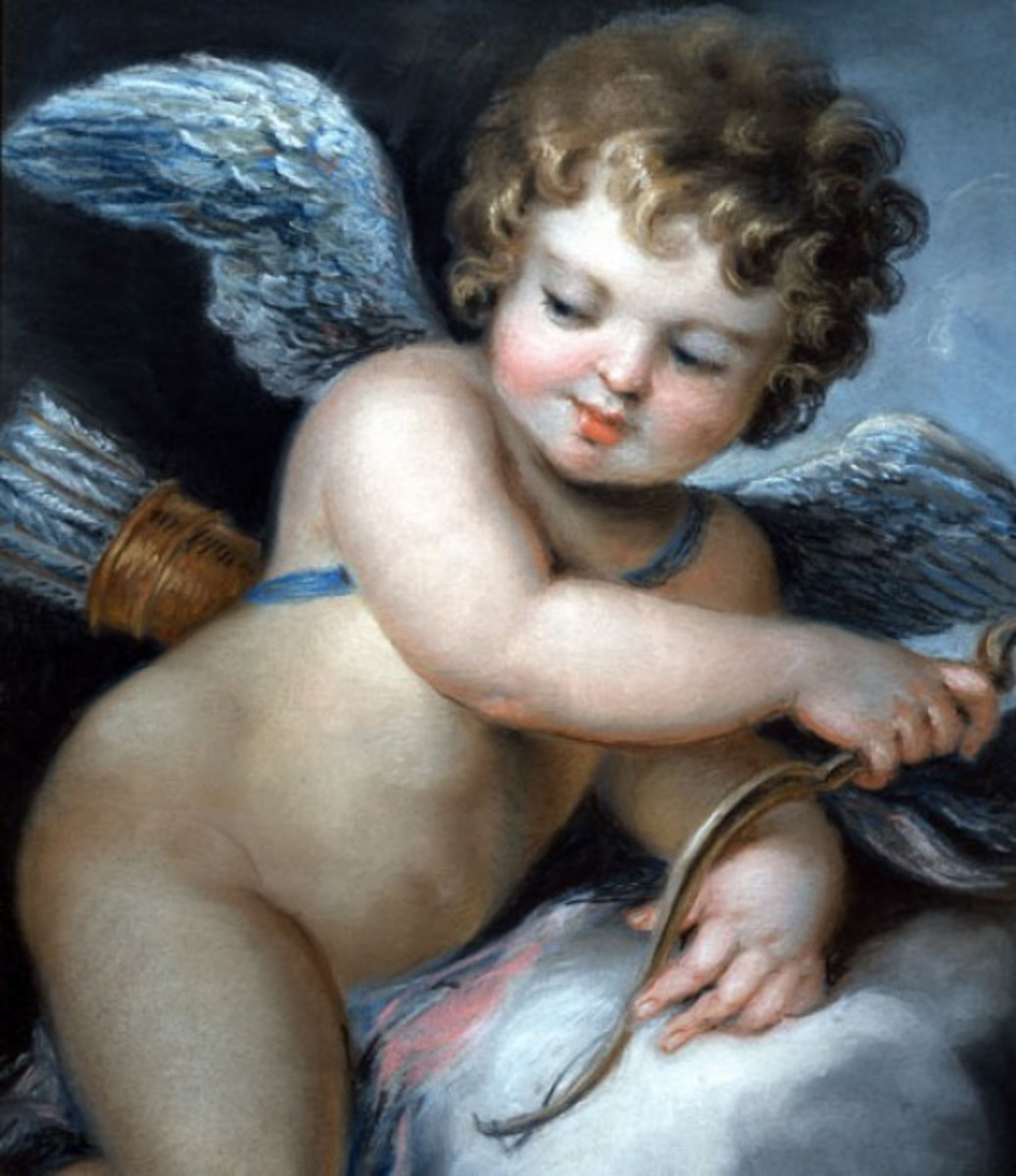 Painting of Cupid