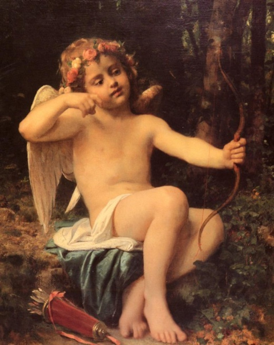 Classic Cupid Painting
