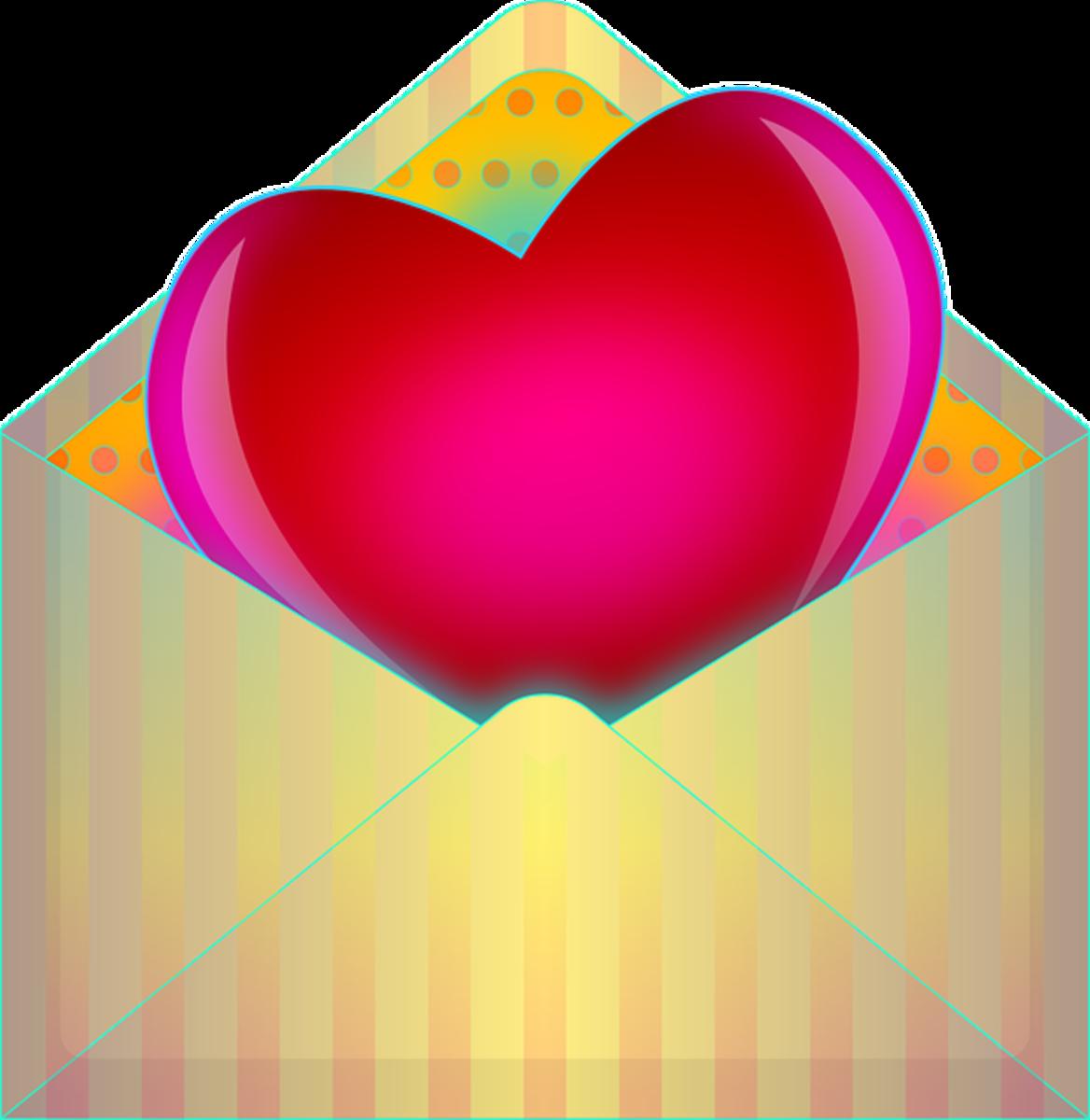 Valentine in Envelope