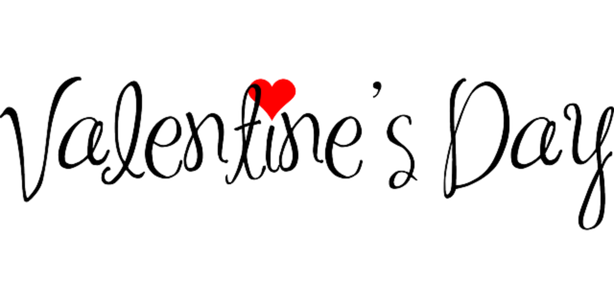 Valentine's Day Font Graphic