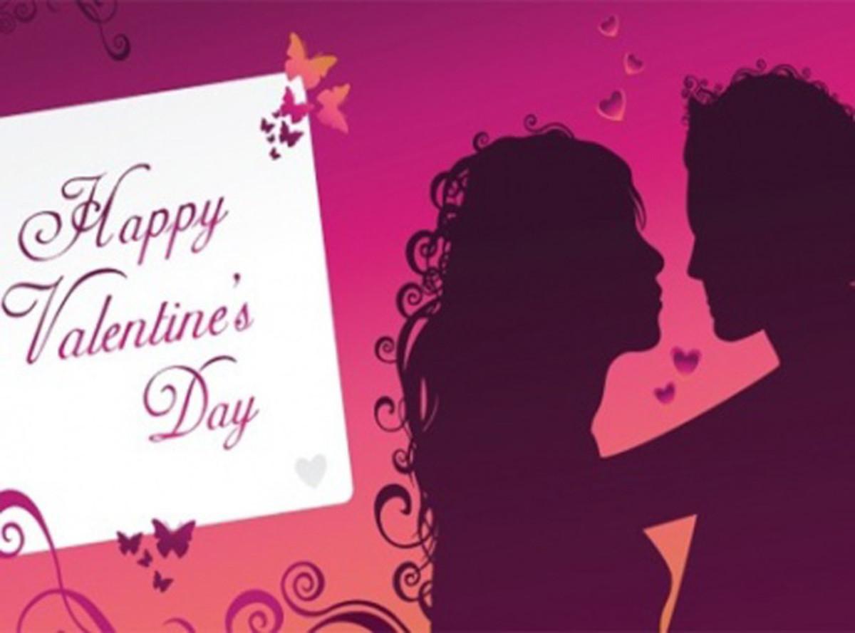 Romantic Happy Valentine's Day