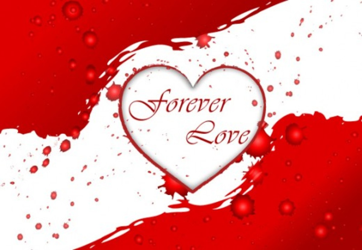 Forever Love Heart Picture