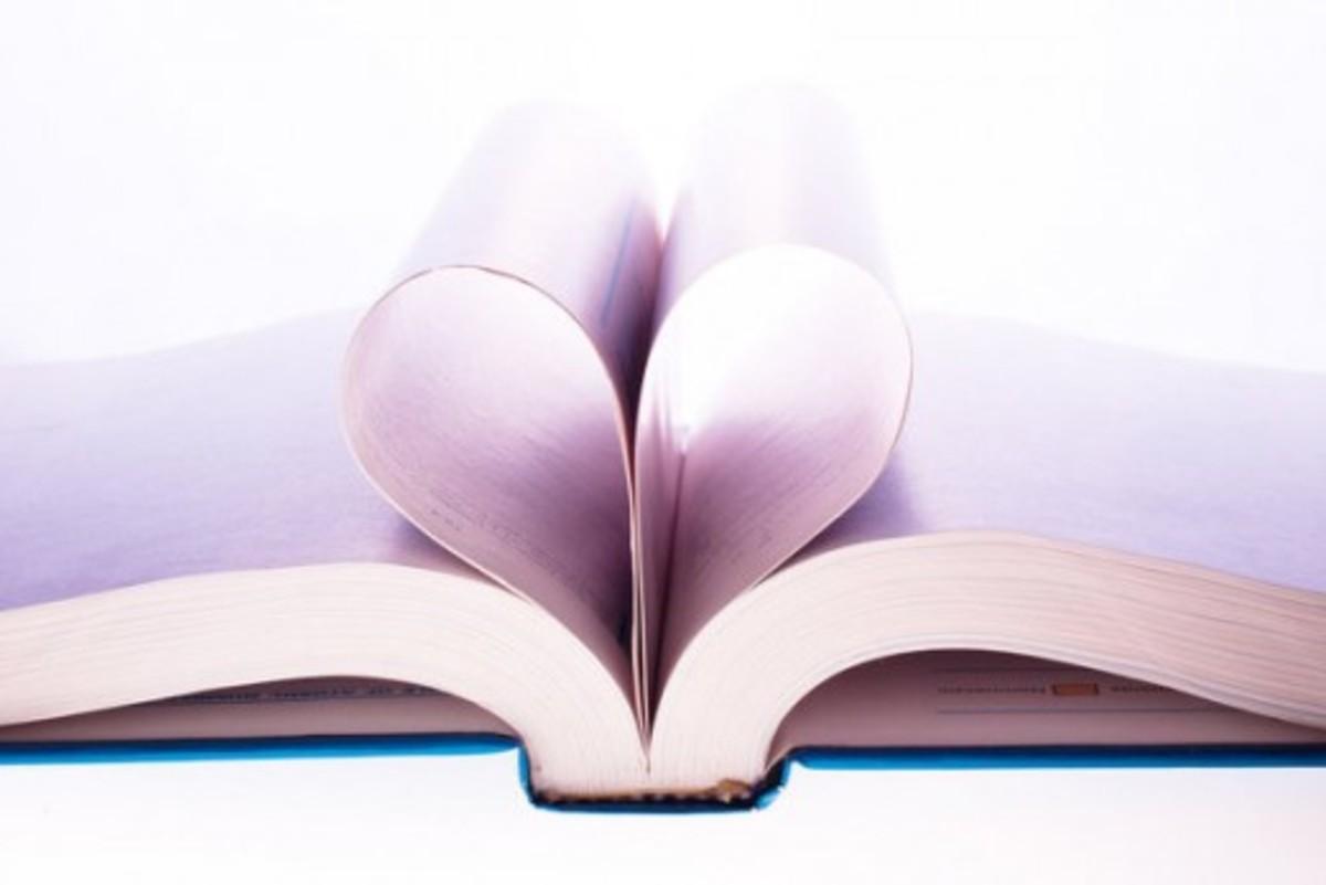 Book Lover's Valentine Picture