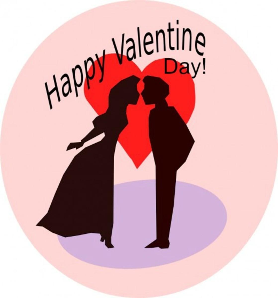 Romantic Happy Valentine Day