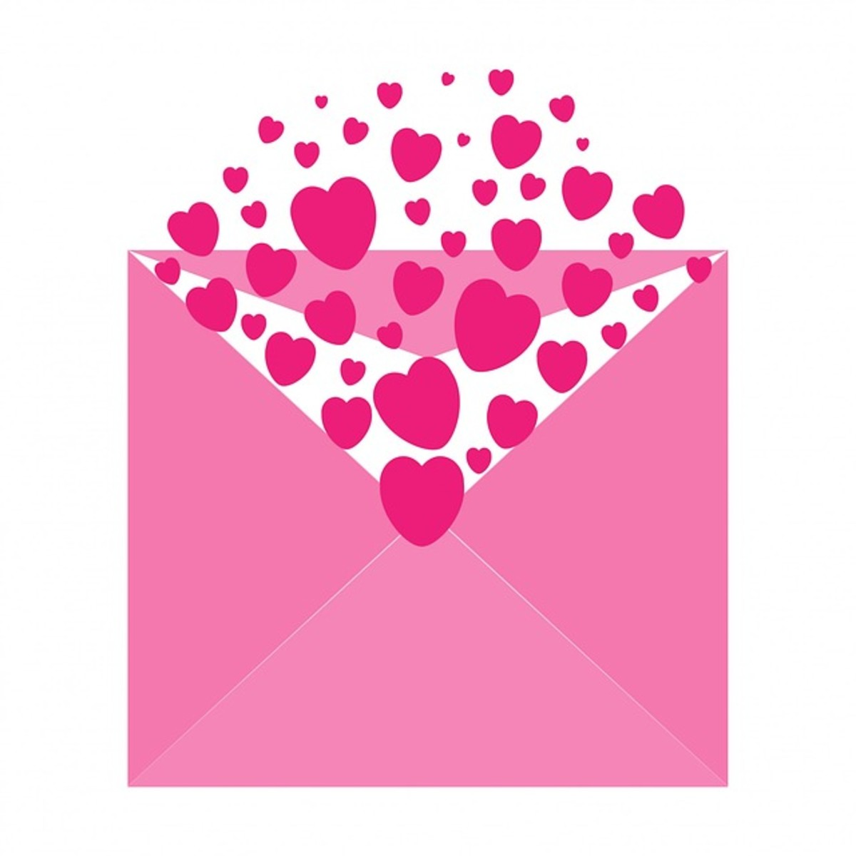 Hearts in an Envelope