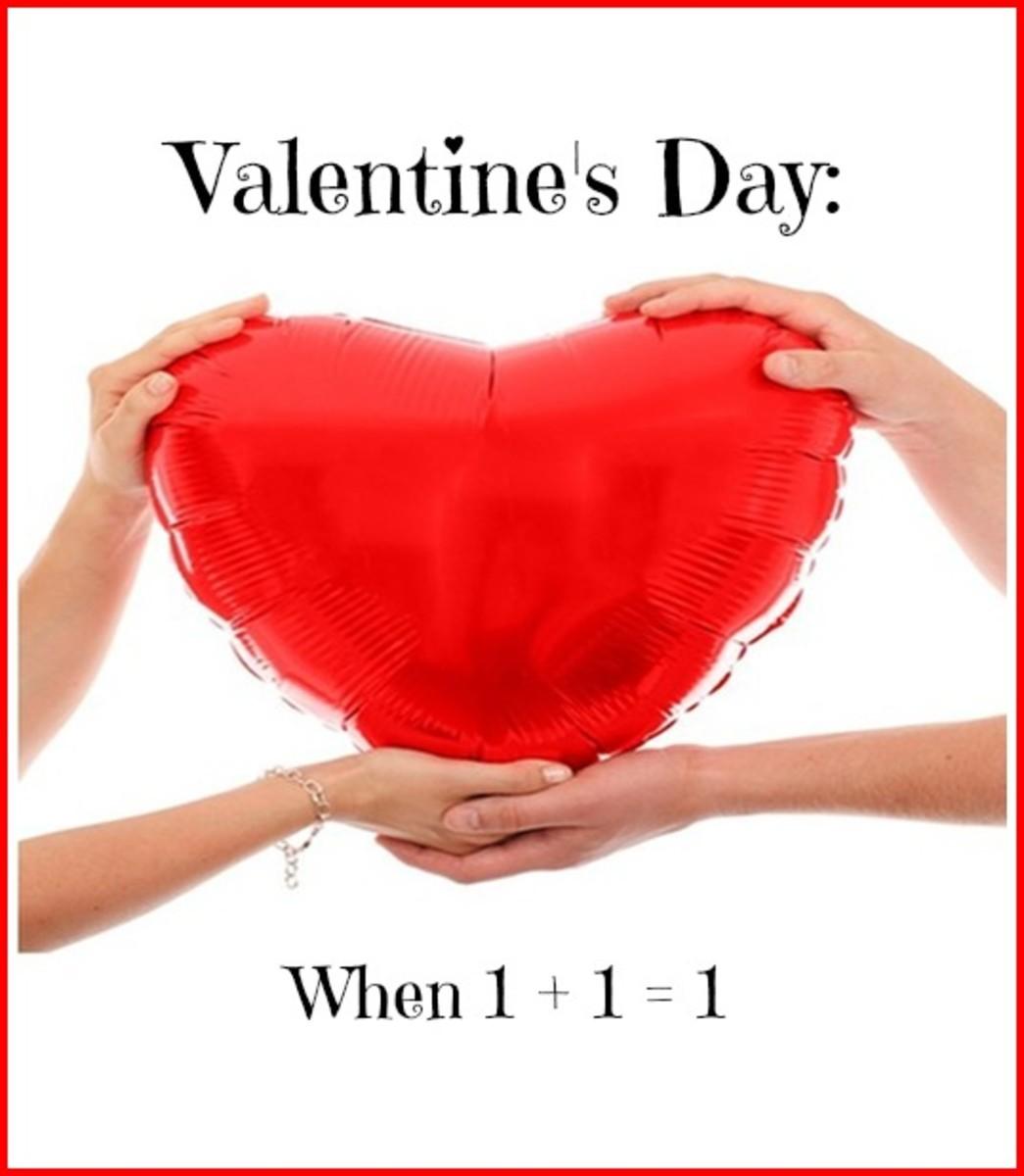 Valentine's Day Math Card