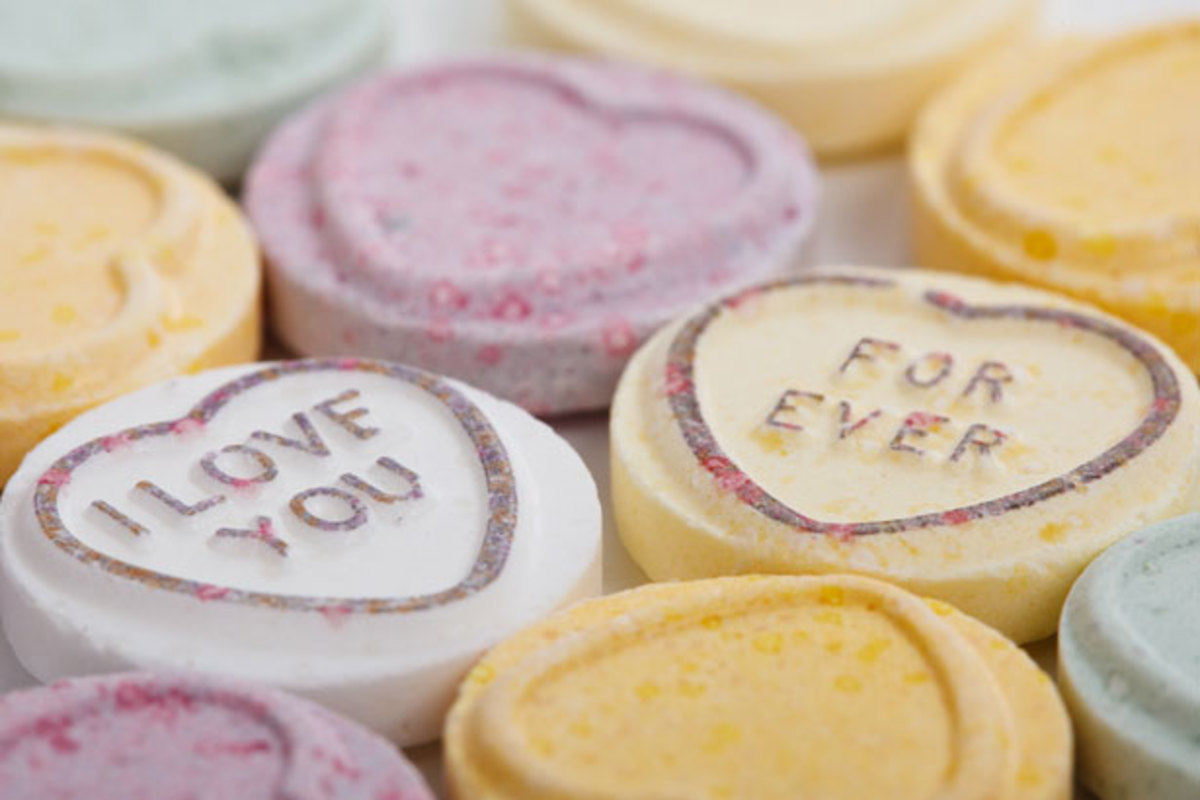 Sweathearts®  Valentine Candy with 'I Love You Forever'