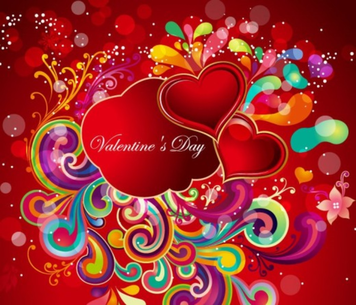 Valentine's Day with Heart Pictures
