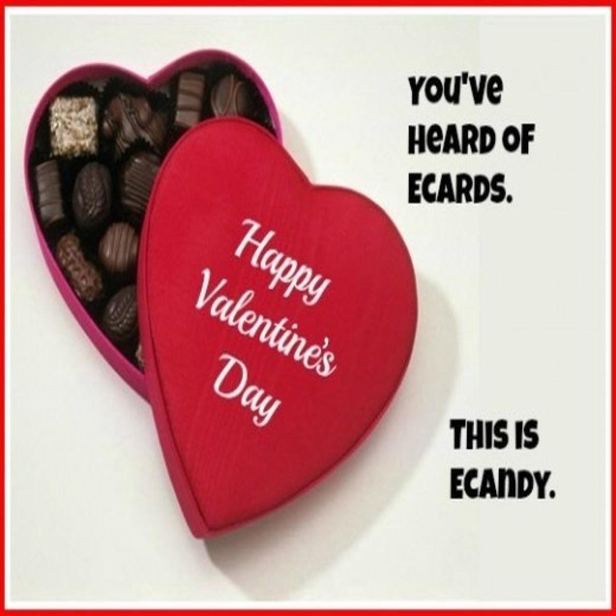 ECandy Valentine Day Card