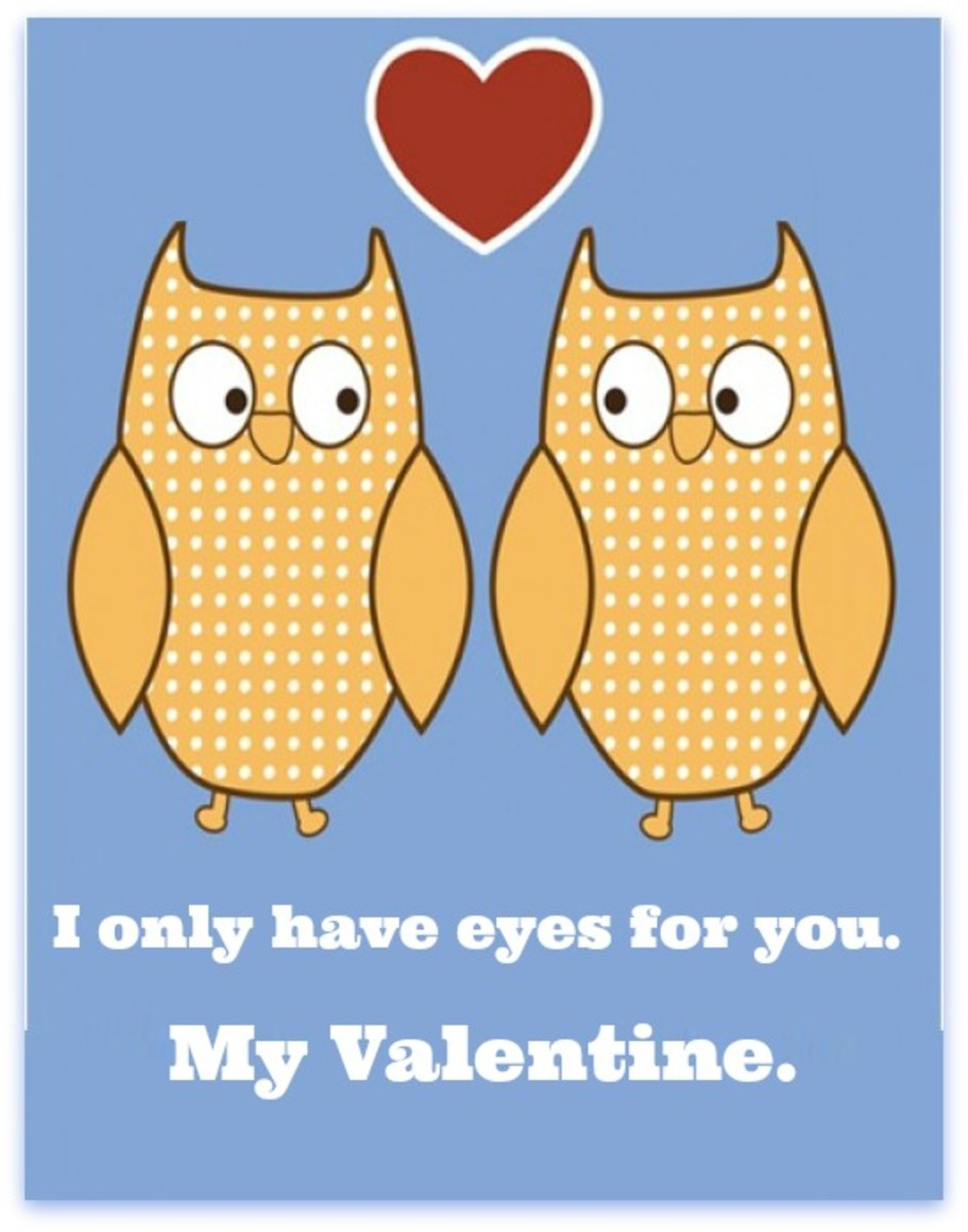 Owls in Love Valentine