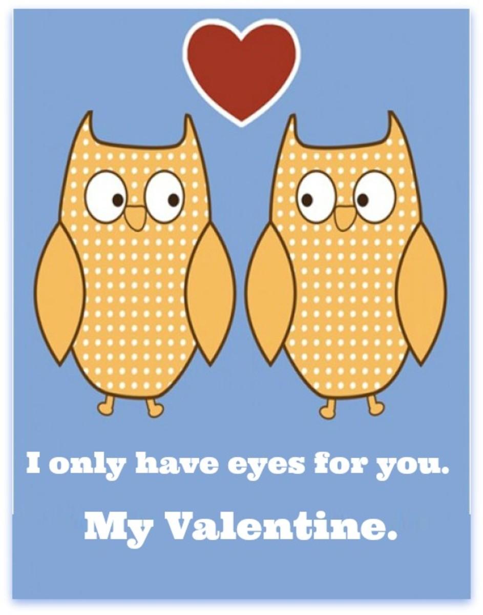 Owls in Love Valentine