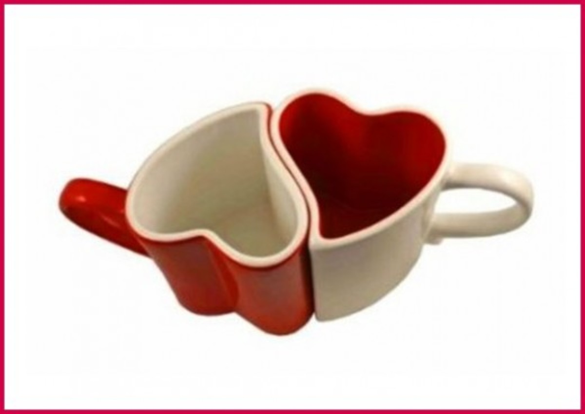 Valentine Love Mugs