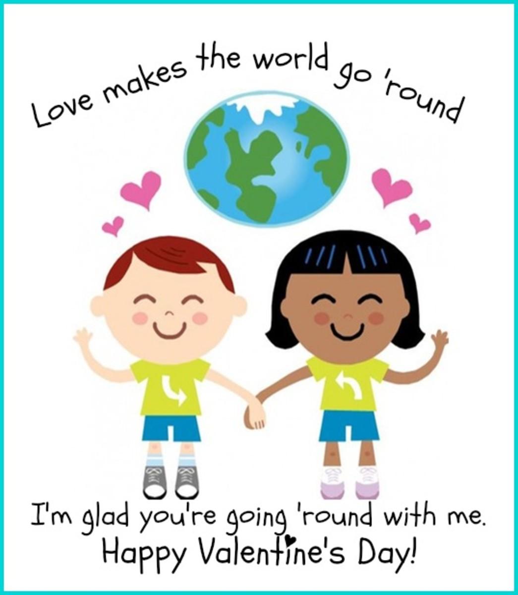 Friendship Valentine Card