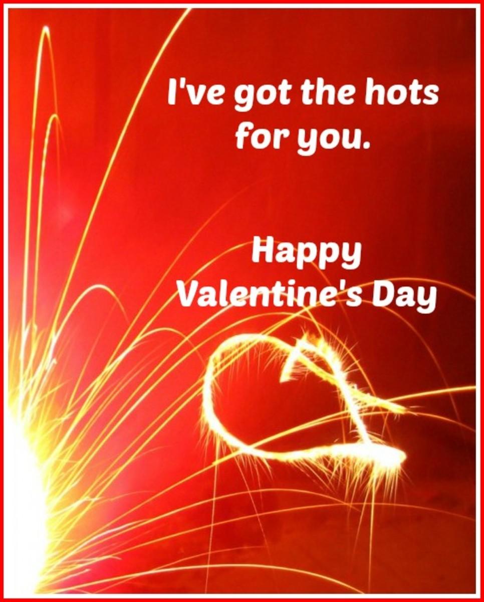 Hot Valentine's Day Card