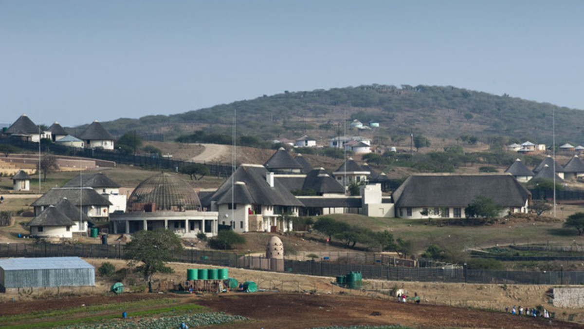 Zuma's Nkandla Fiasco and Thieving From The Poor To build This Mammoth Homestead/Compound..