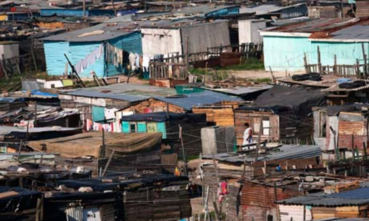 Gugulethu township in South Africa aspires to be a suburb of Cape Town.