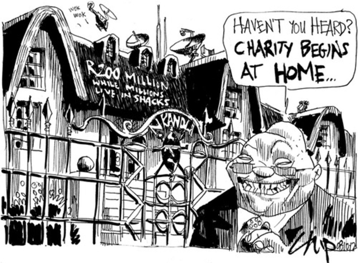 Spot On! Prez Zuma...