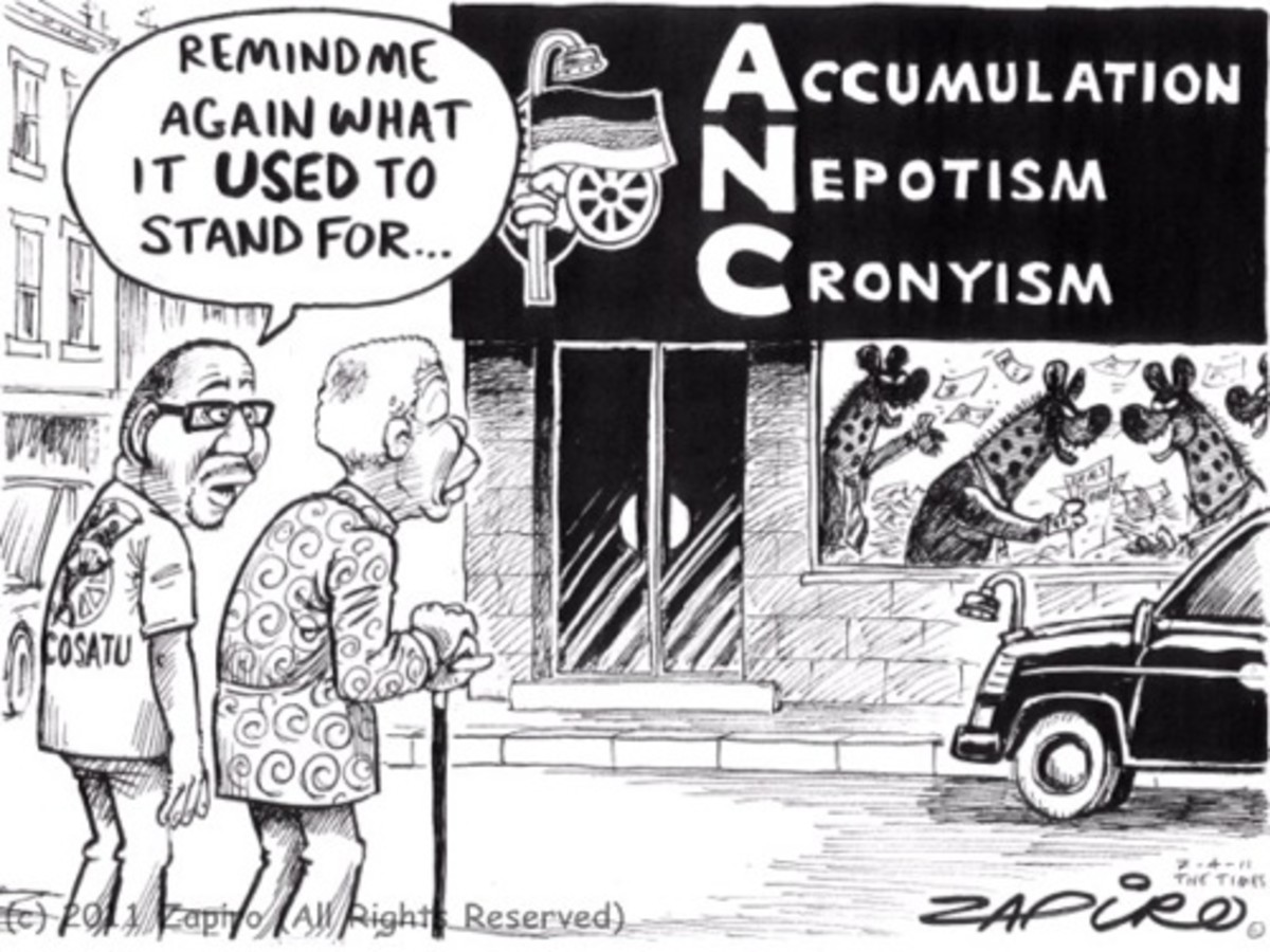 avi made the front newspaper pages in a critical speech on the ruling ANC. Before local elections and at the NUMSA conference, Zwelinzima Vavi states that corruption and self-enrichment in the ANC could push voters into the DA. He warns that the scou