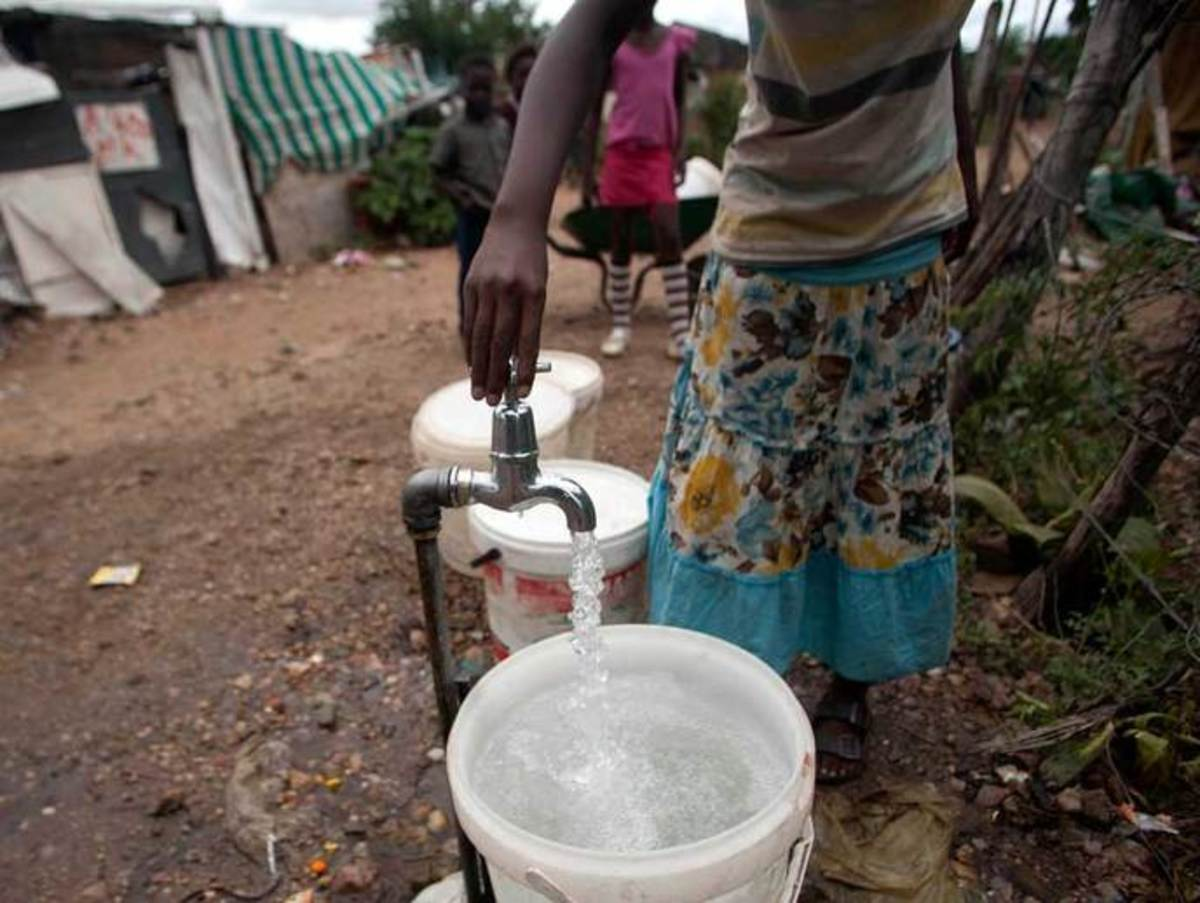 .Water: It's A daily struggle in the Shacks and theGhettoes of Mzatnsi