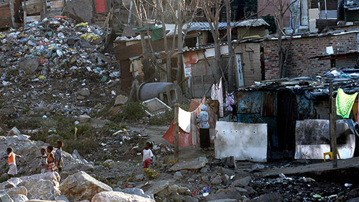 Alexandra Township in Johannesburg South Africa, Today..