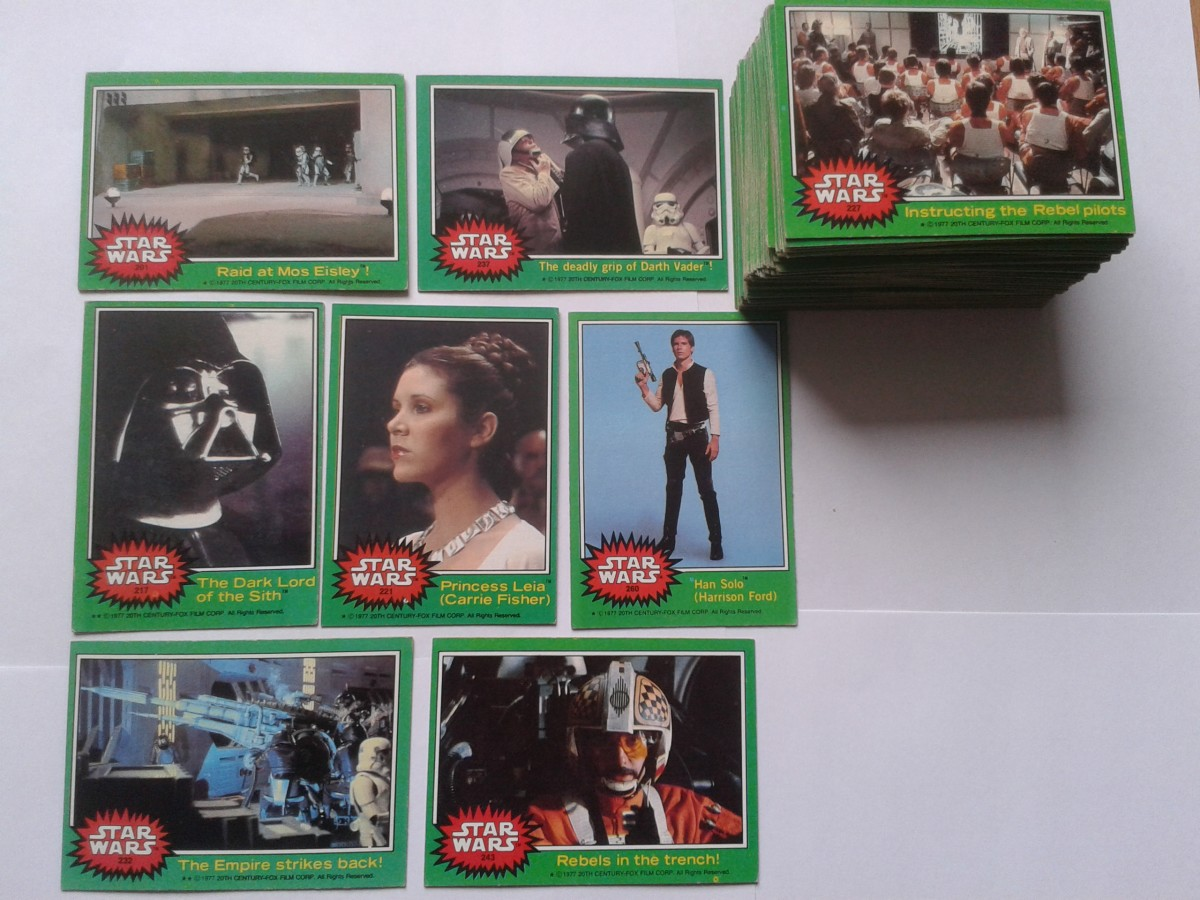 Star Wars Series 4 1977