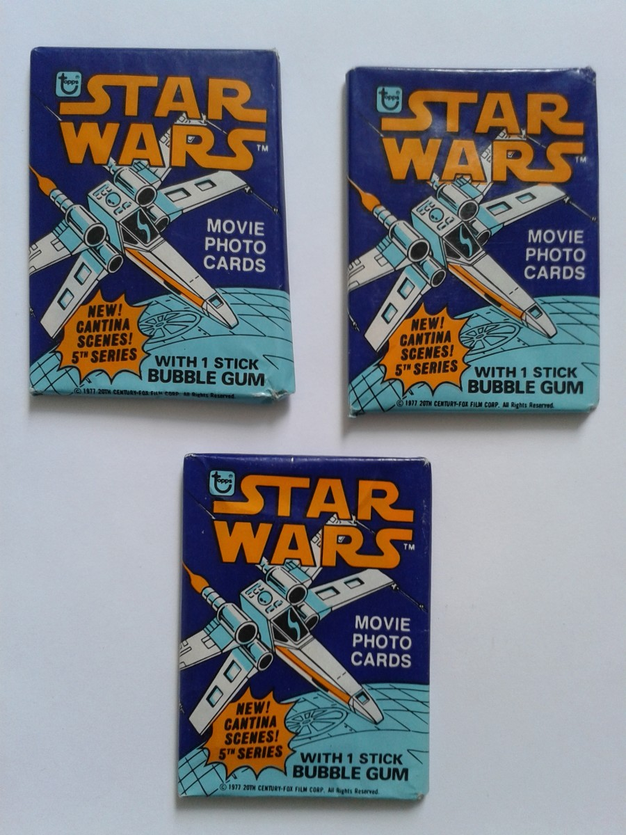 Star Wars Series 5 Wax Packets
