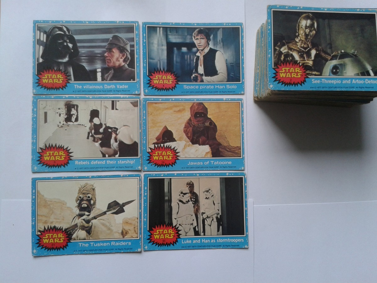 Star Wars Series 1 1977