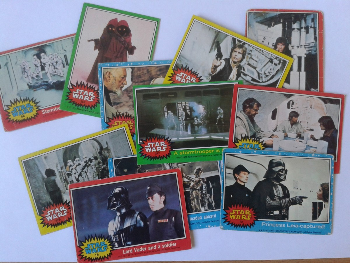 Star Wars Vintage Trading Cards - A Collectors Guide