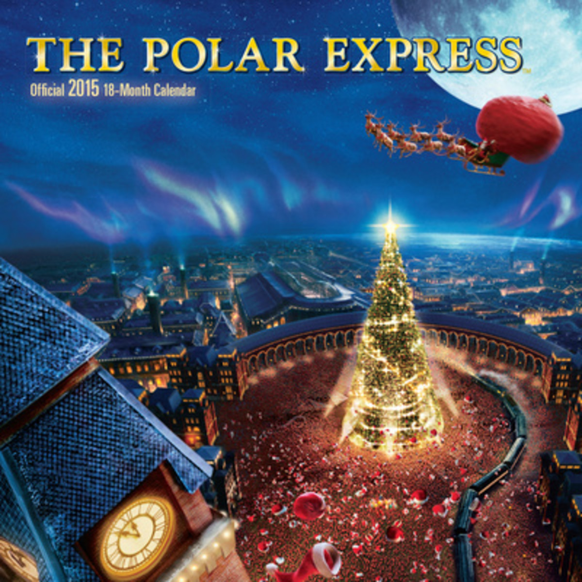 Polar Express 2015 Wall Calendar