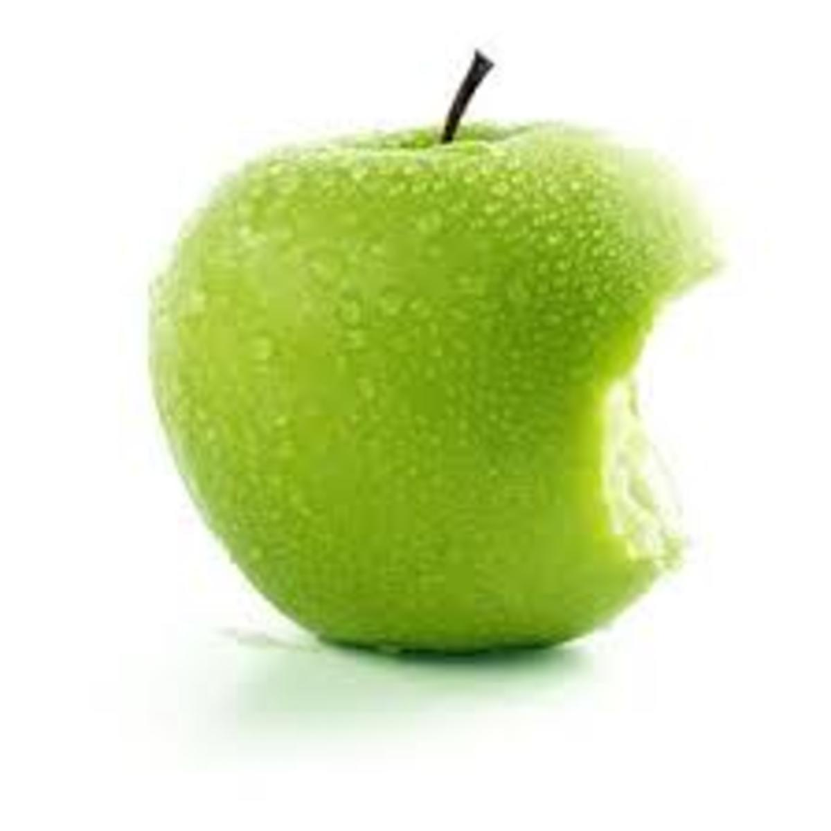 'to get an apple faint'