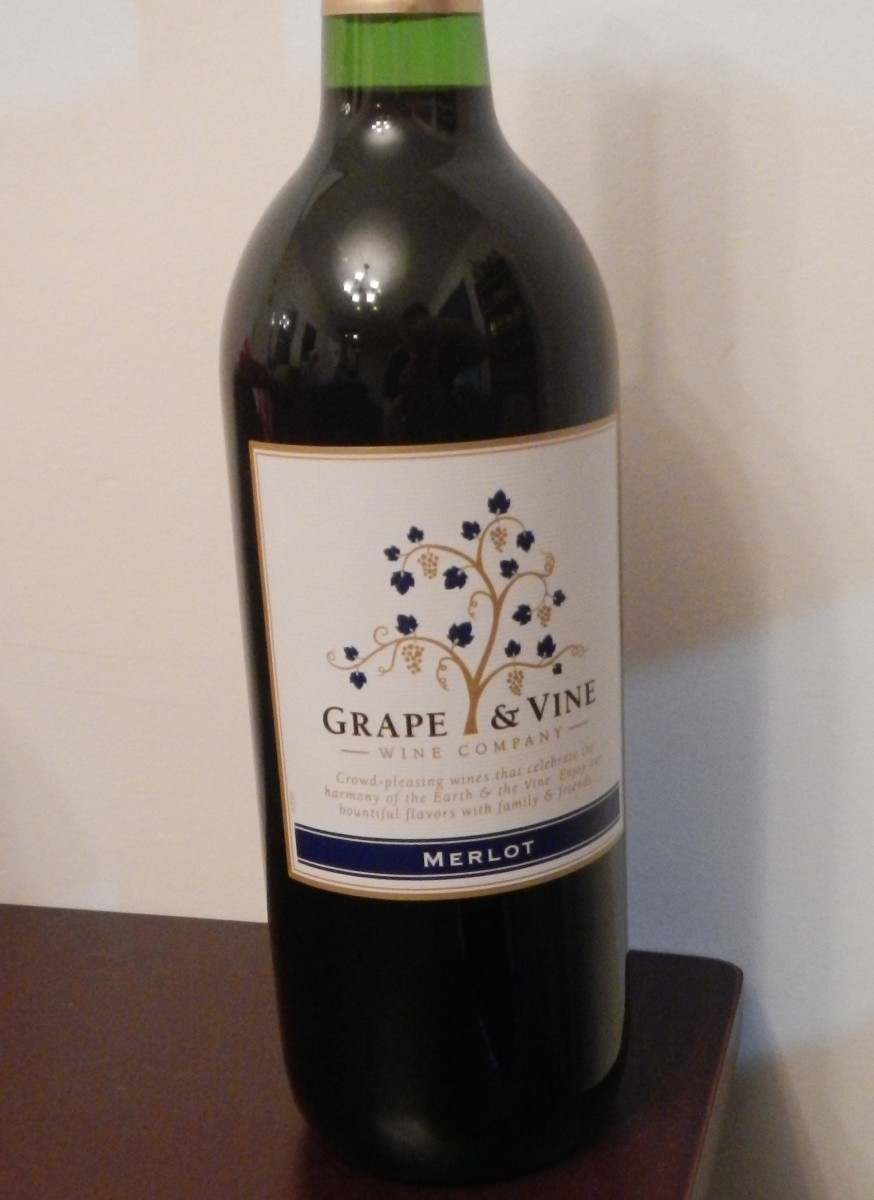 Grape & Vine Wine Company - Merlot