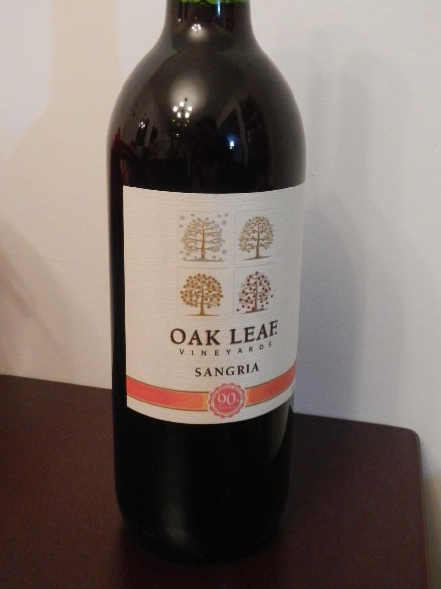 Oak Leaf Vineyard - Sangria