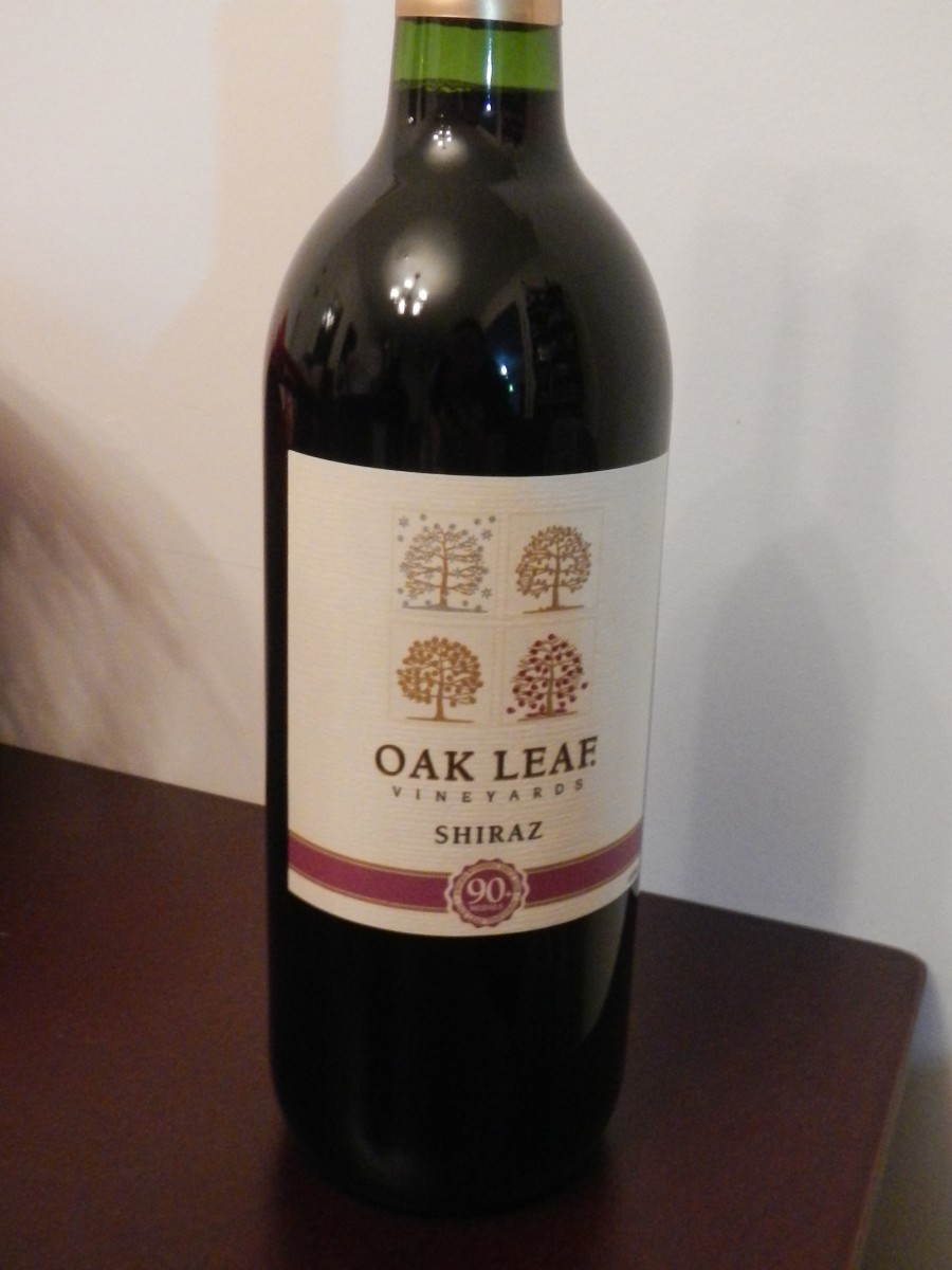 Oak Leaf Vineyard - Shiraz