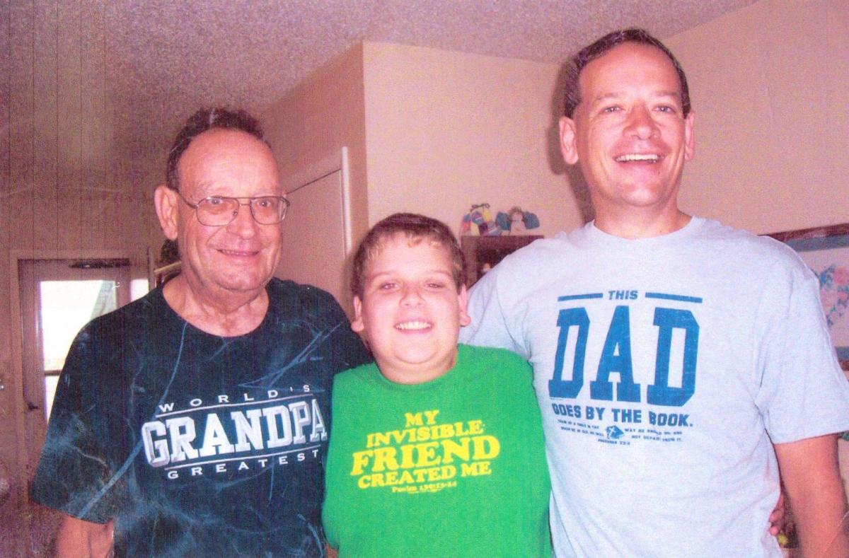 My Dad, Wayne Cabaniss, my son, Zachary Cabaniss, and me.