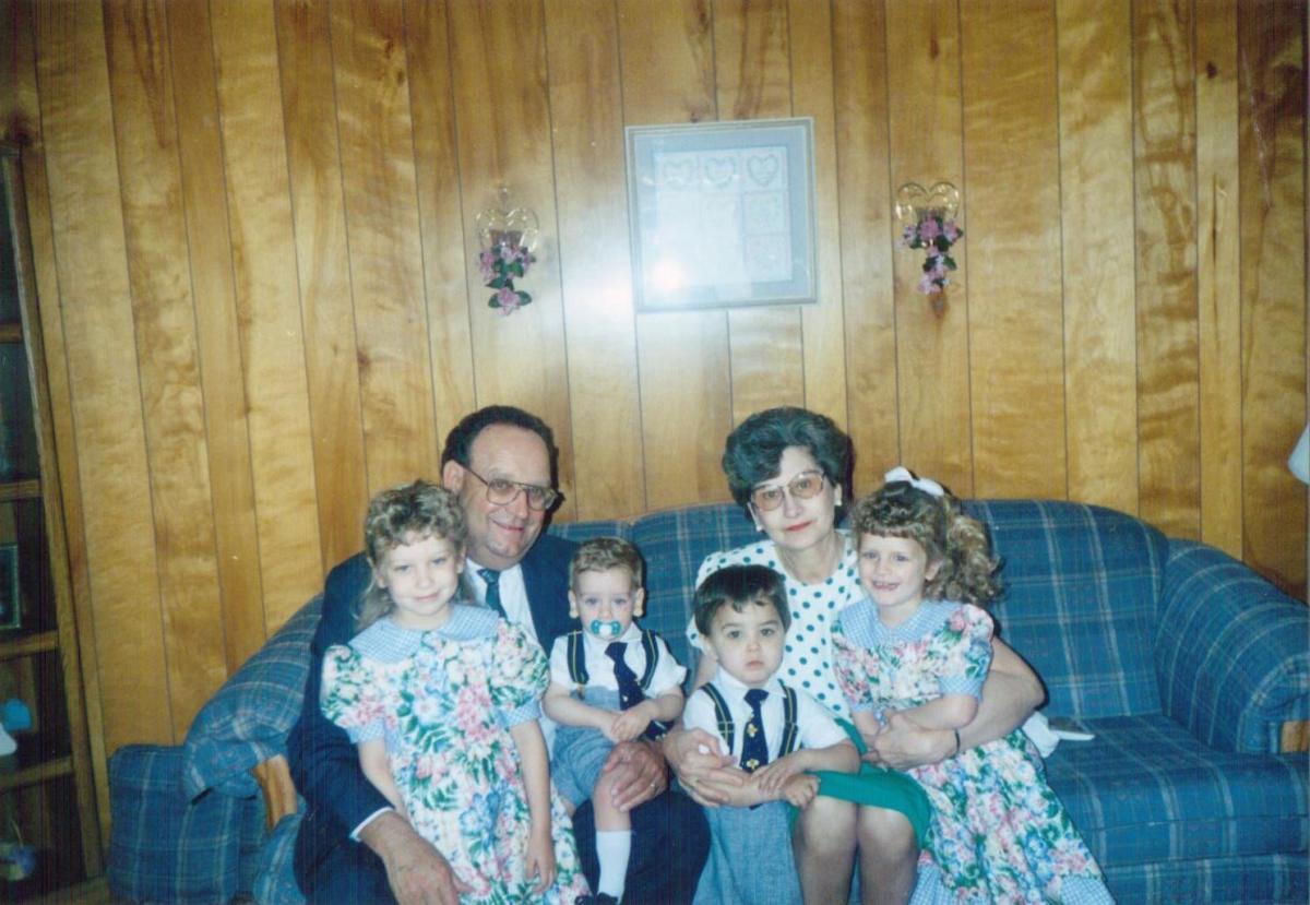 Kalyn, Dad, Zachary, Jase, Mom, Melanie