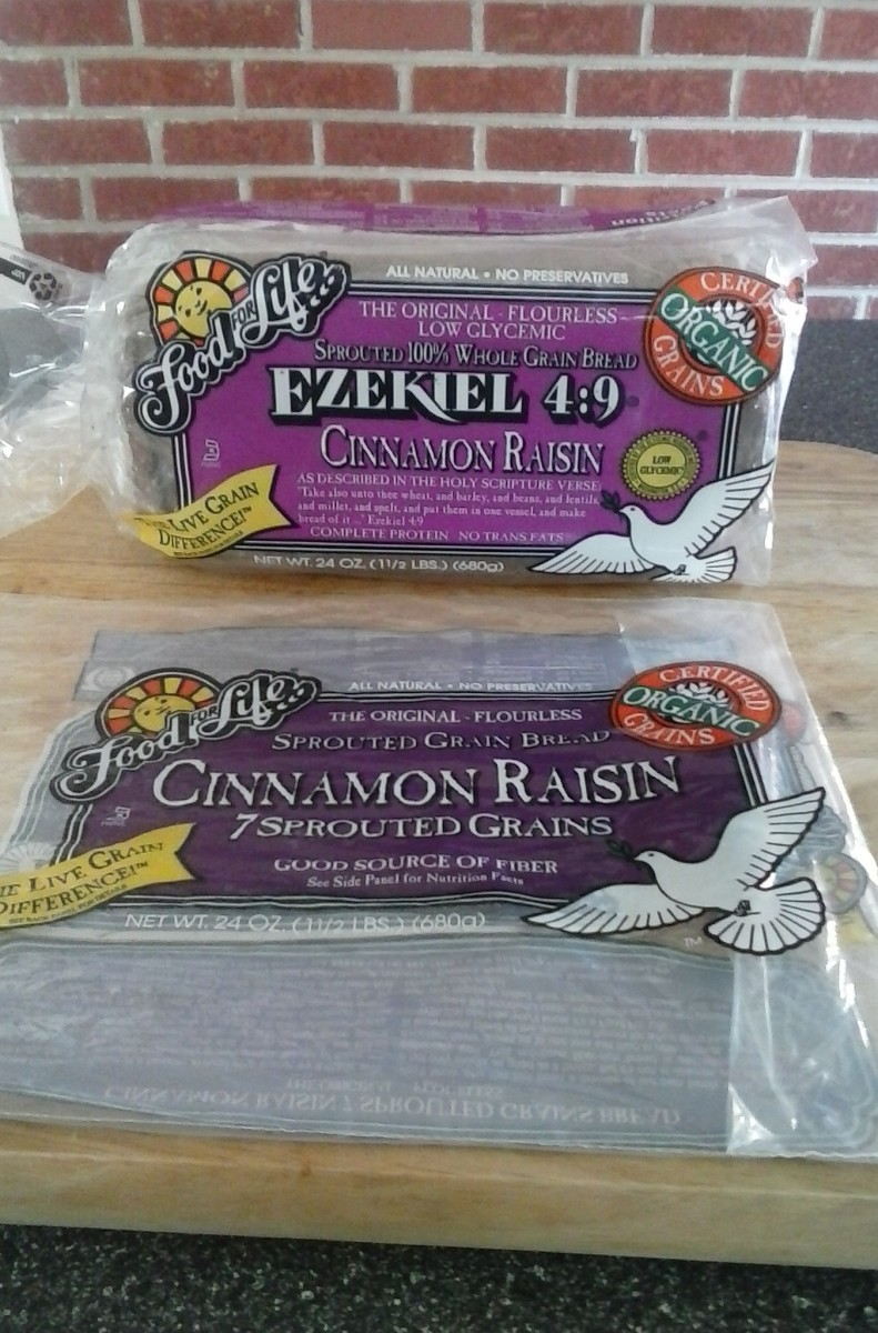 Ezekiel 4:9 breads are a good source of complete proteins, and for those on low sodium diets.  It's also a healthy organic food and low on the glycemic index.