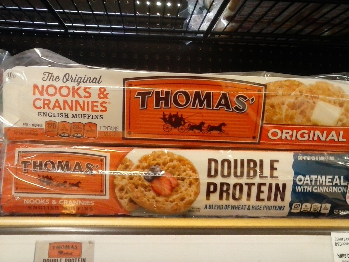 English muffins of any flavor are high in sodium, have more calories and generally more carbs than most wheat breads.